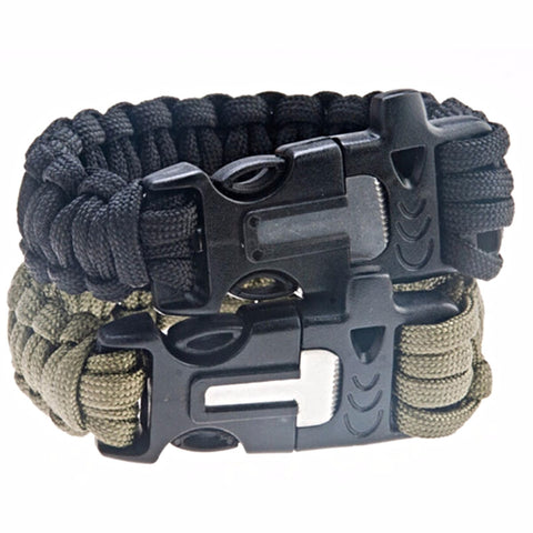 4 in 1 Survival Bracelet Gear