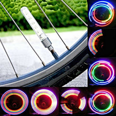 1 Pair Colorful Tire Light