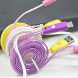 Flashing Cable USB Data Charger