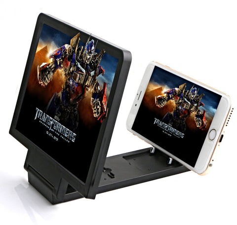 Portable 3D Mobile Phone Screen Enhancer