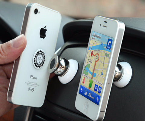 Rotatable Magnetic Dash Mount for Mobiles