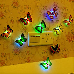 1 pc Colorful Butterfly Wall Light