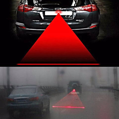Automotive Laser Warning LED Light