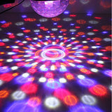 Crystal Disco Laser LED Projector
