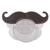 Silly Mustache Baby Pacifier