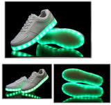 Vibrant Light Up Sneakers
