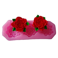 3D Rose Cake Decor