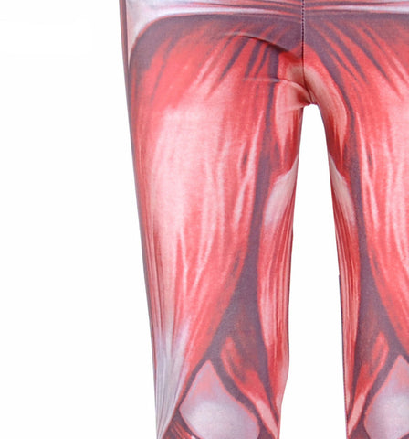 Realistic Muscle Skin Leggings