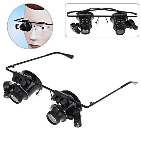 Light-Emitting Magnifying Eyeglass (55% OFF Limited Time Special!)