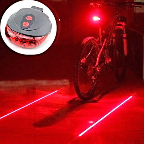 Bike Saddle Safety Light