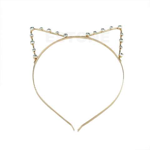 Kitty Cat Ears Headband