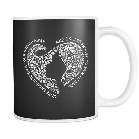 Cute Enough to Take Your Breath Away, And Skilled Enough to Restart It MUG