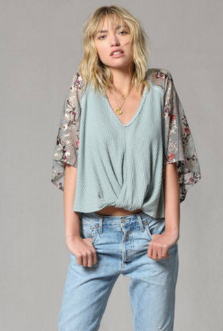 'Poppy' Off-the-shoulder Top
