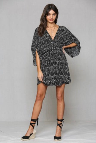 'Lazy leo' sweatshirt dress