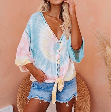 'Tropical' top