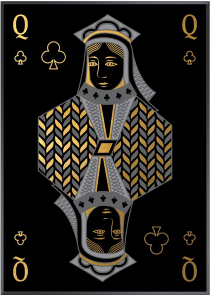 Playing Card IX