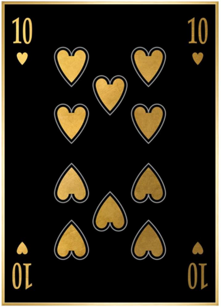 Playing Card XII