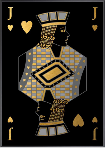 Playing Card XIII