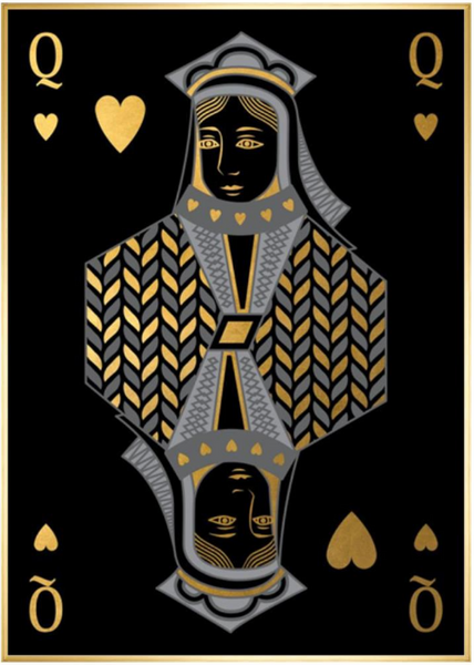 Playing Card XIV