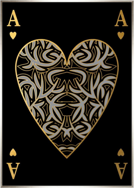 Playing Card XVI