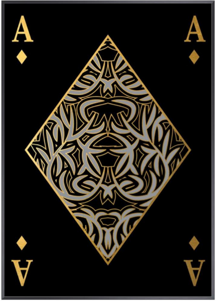 Playing Card XXI