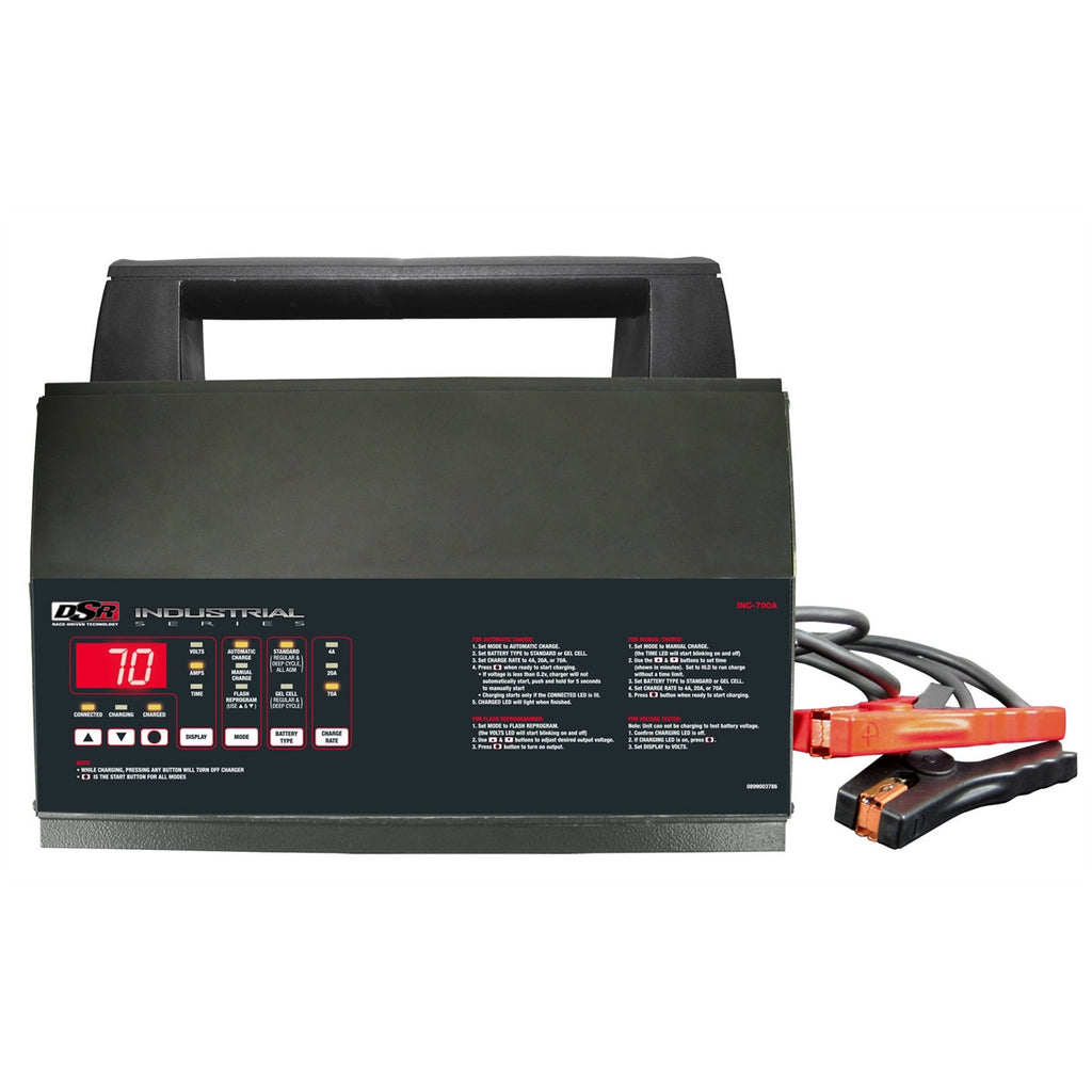 INC Programming Constant Power Supply & Smart Battery Charger