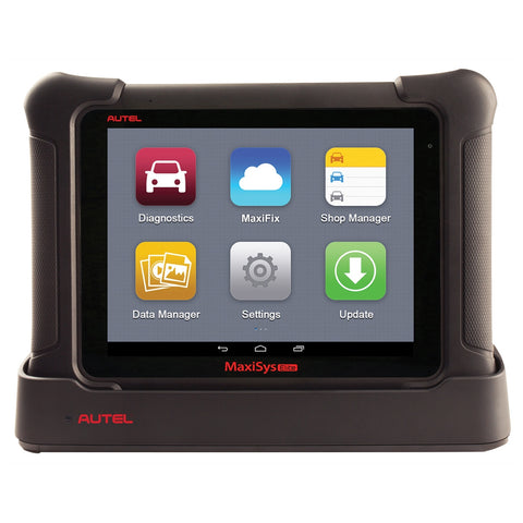 Autel MaxiSys Elite Automotive Diagnostic Scan Tool w/ J2534 Pass Thru Device