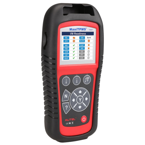 Autel TS601 MaxiTPMS® All-In-One TPMS Service Tool & OBDII Scan Tool with 8 Free TPMS Sensors