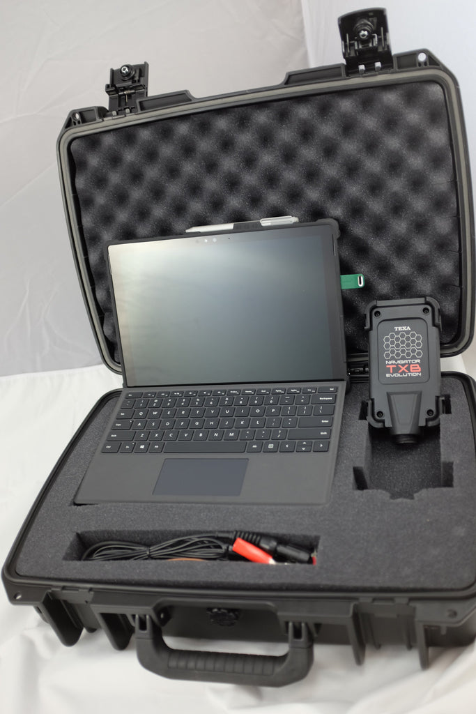 TEXA TXB Evolution Bike Diagnostic Scanner | Dealer Level Capability | Surface Pro 4