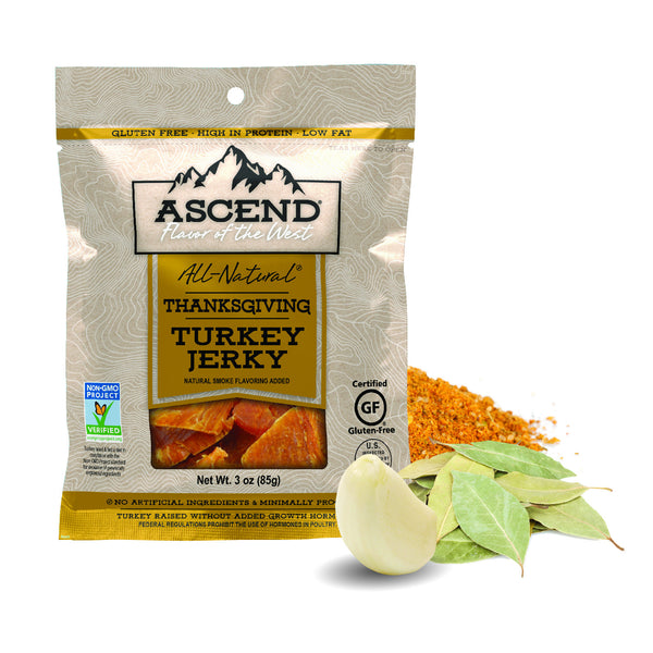 Thanksgiving turkey jerky, non-gmo