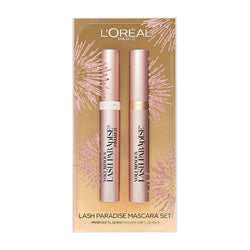 Loreal Voluminous Lash Paradise Mascara Set - Blackest Black/Primer