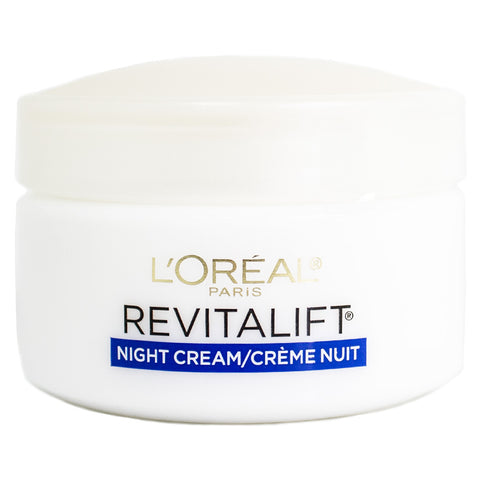 Loreal Revitalift Complete Anti-Wrinkle & Firming Night Cream, 1.7oz