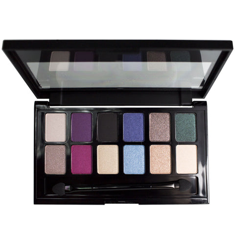 Maybelline 12-Pan Eyeshadow Palette - The Graffiti Nudes