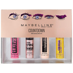 Maybelline Countdown Mini Mascara 4pc Kit