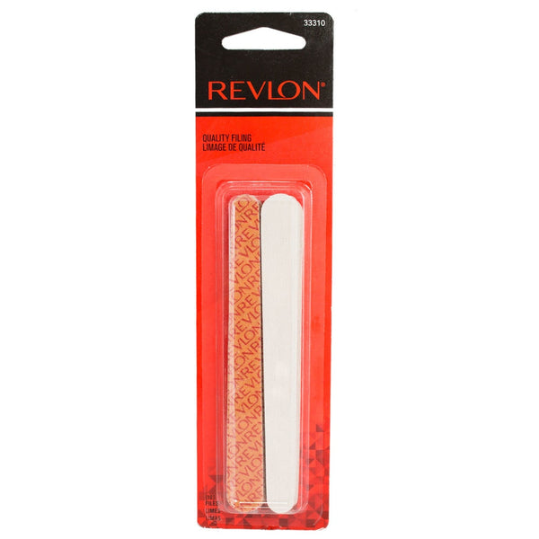 Revlon Dual Sided Compact Emery Boards, 10 Pack, Short