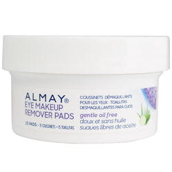 Almay Oil-Free Eye Makeup Remover Pads, 15 ct.
