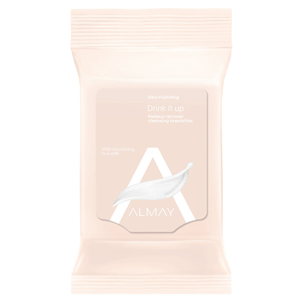 Almay Ultra Hydrating Makeup Remover Cleansing Towelettes 25 ct