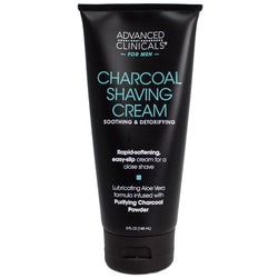 Advanced Clinicals for Men Charcoal Shaving Cream 5 Fl Oz