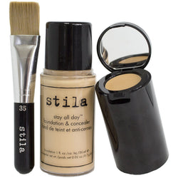 Stila Stay All Day Foundation, Concealer & Brush