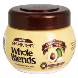 Garnier Whole Blends Avocado Oil & Shea Butter Nourishing Mask, 10.1 fl. oz.