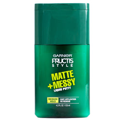 Garnier Fructis Style Matte + Messy Liquid Hair Putty 4.2 fl oz