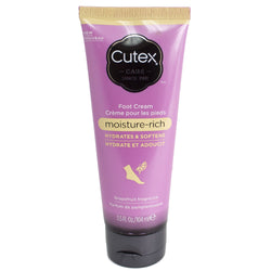 Cutex Moisture-Rich Foot Cream 3.5 fl oz - Grapefruit Fragrance