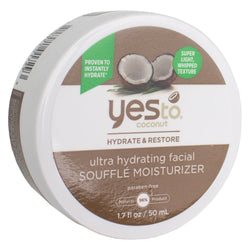 Yes To Coconut Ultra Hydrating Facial Souffle Moisturizer 1.7 fl oz