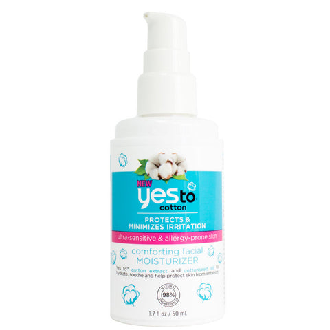 Yes To Cotton Comforting Facial Moisturizer 1.7 fl oz
