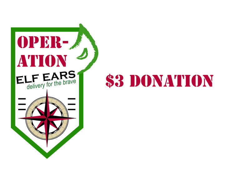 OPERATION ELF EARS DONATION $3
