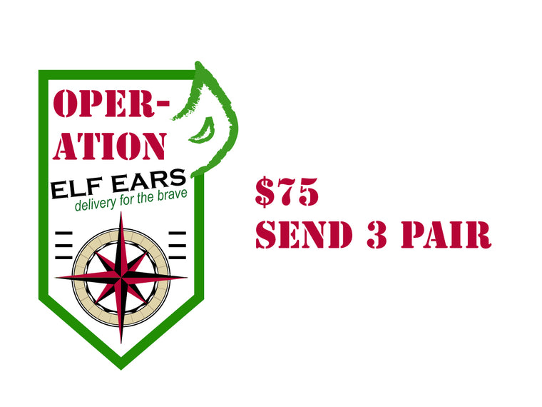 OPERATION ELF EARS DONATION $75