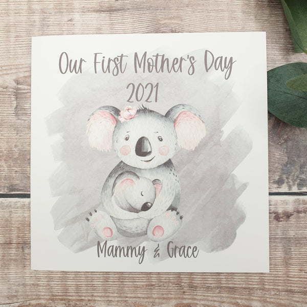 First Mother's Day Card, Our first Mother's Day