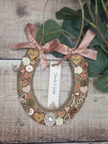 Personalised Wedding Horseshoe, Lucky Horseshoe,