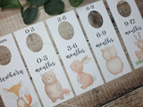 Woodland Nursery, Baby Clothes Dividers