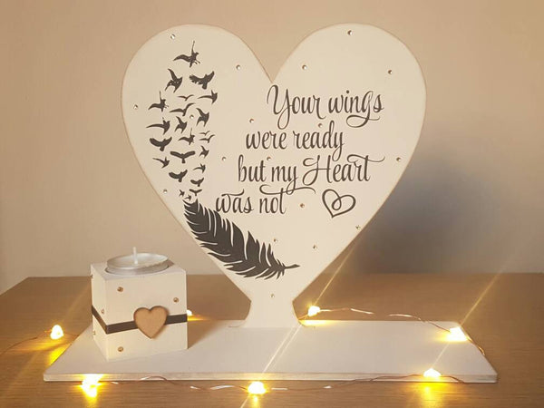Your wings were ready but my heart was not - Fingers and Thumbs Crafts